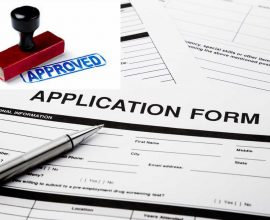 Domestic Builder Application Form