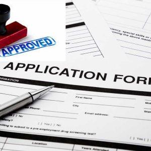 Domestic Builder Application Form