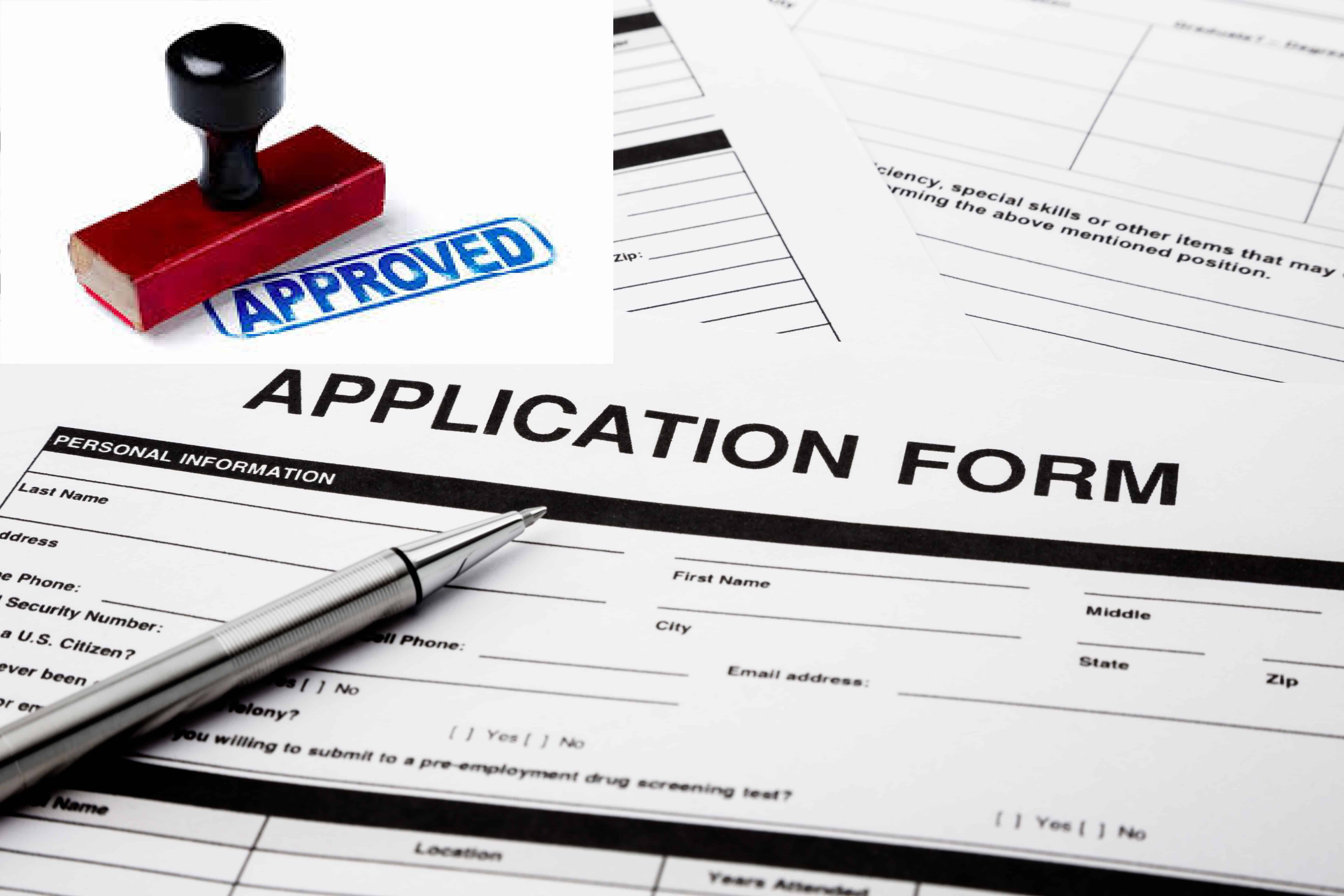Simple Application Forms